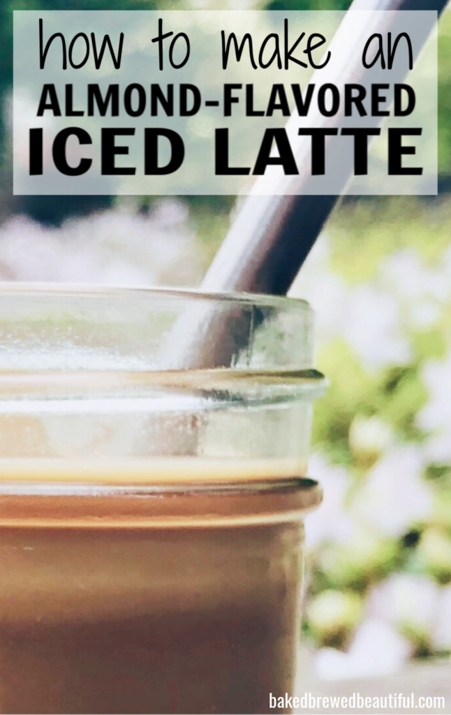 Almond Flavored Iced Latte Recipe