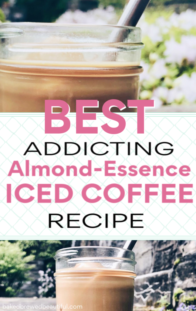 easy iced coffee recipe almond latte