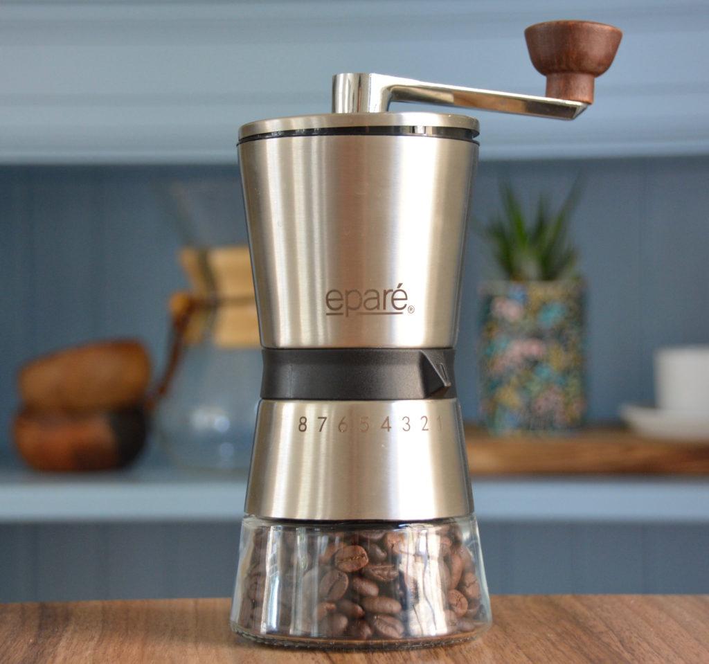 hand coffee grinder by Epare