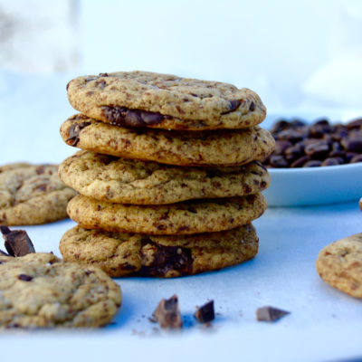 Best Dark Chocolate Chip Espresso Cookies Recipe