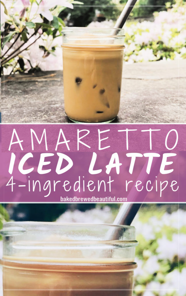 Easy Amaretto iced Latte recipe