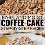 Easy and Moist Coffee Cake Recipe