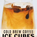 Cold Brew Coffee Ice Cubes