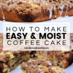 Best Moist Coffee Cake Recipe