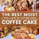 Super Easy & Moist Coffee Cake Recipe