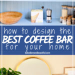 Coffee Bar Design Blue Pin
