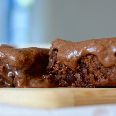Small Batch Gluten-Free Brownies With Coffee-Infused Frosting