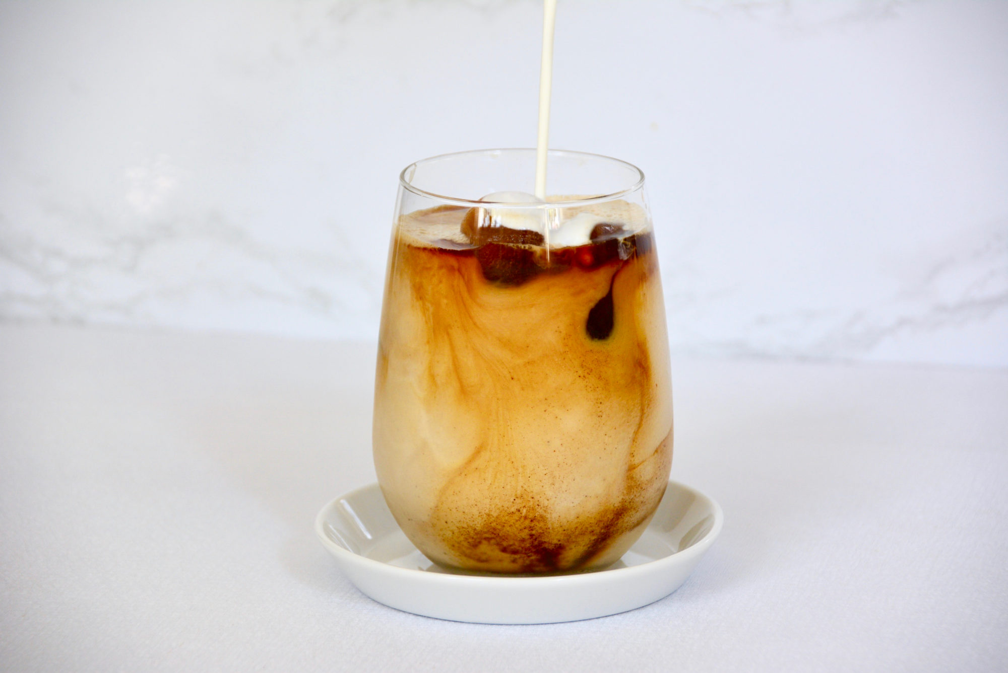 Quick Iced Dirty Chai Latte