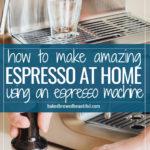 How to Make Espresso At Home Coffee Recipe