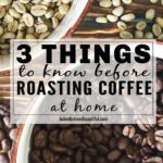Roasting Coffee Beans Tips