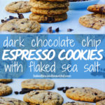 dark chocolate chip cookies espresso