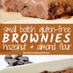small batch brownies recipe frosting
