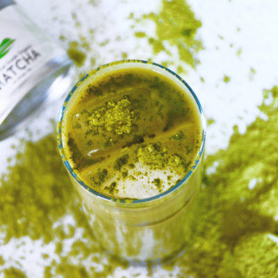 Iced Oat Milk Matcha Latte Recipe — Only 4 Ingredients