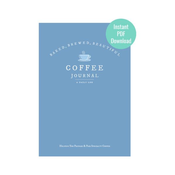 digital coffee journal cover