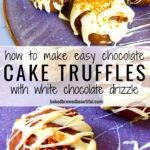chocolate cake truffles recipe