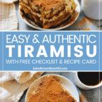 tiramisu authentic recipe