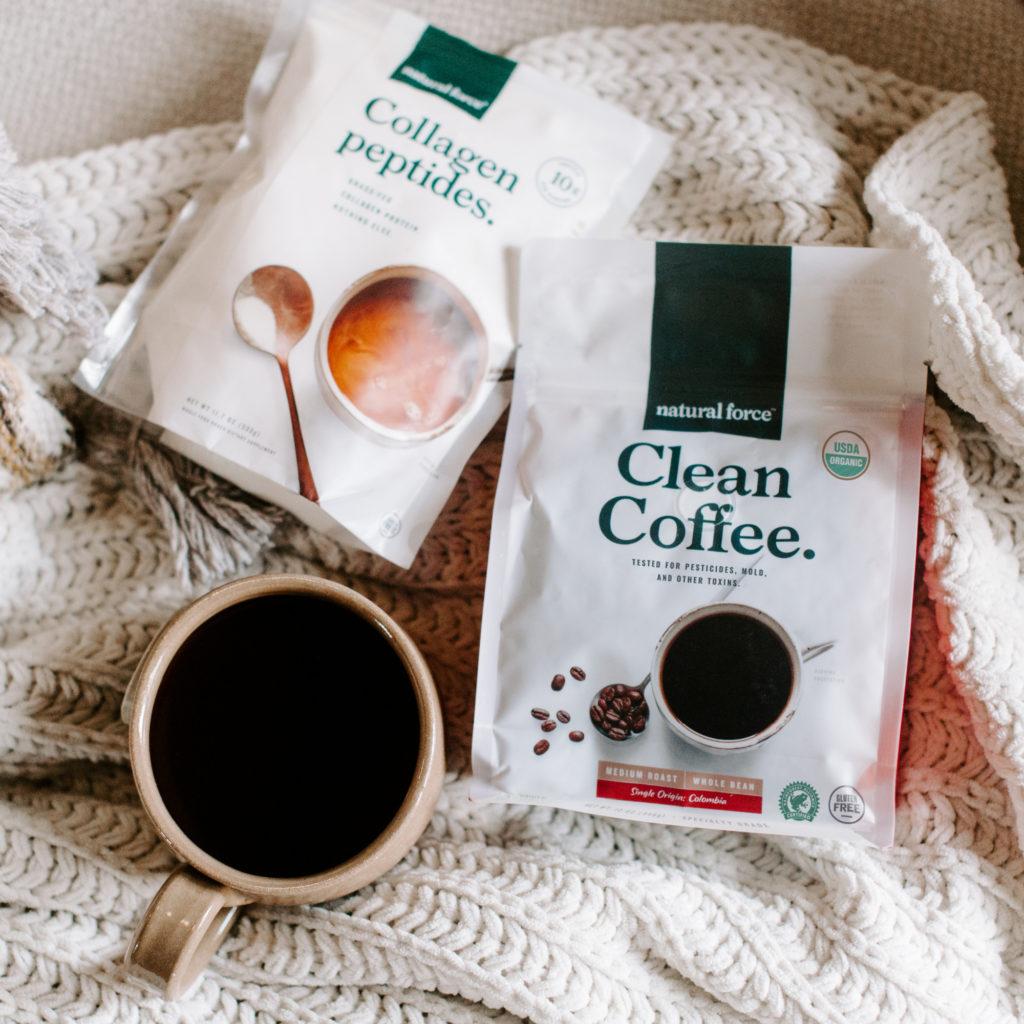 clean coffee lifestyle photo