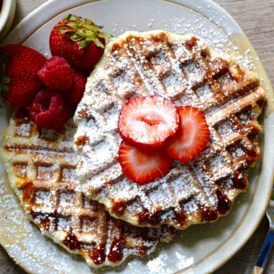 Liege Belgian Waffle Recipe